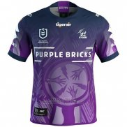 WH Maillot Melbourne Storm Rugby 2019 Indigene