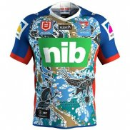 WH Maillot Newcastle Knights Rugby 2019 Indigene