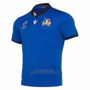 Maillot Italie Rugby RWC2019 Bleu