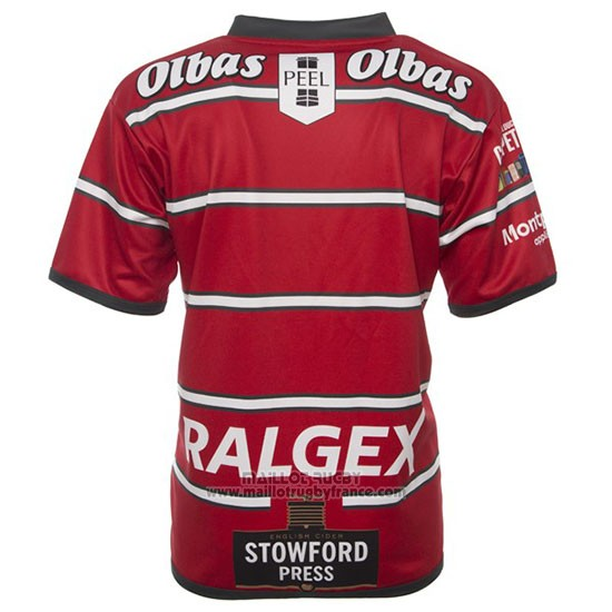 Maillot Gloucester Rugby 2019 Domicile