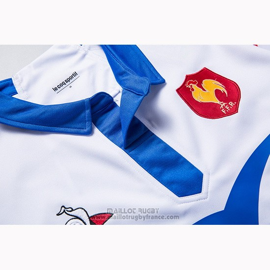 Maillot France Rugby 2018-19 Blanc